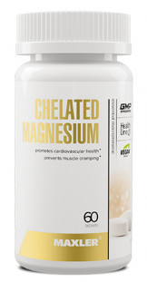 Maxler Chelated Magnesium (60 таб)